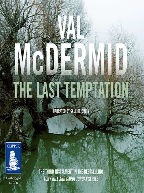 Tony Hill and Carol Jordan Book 3: The Last Temptation Cover