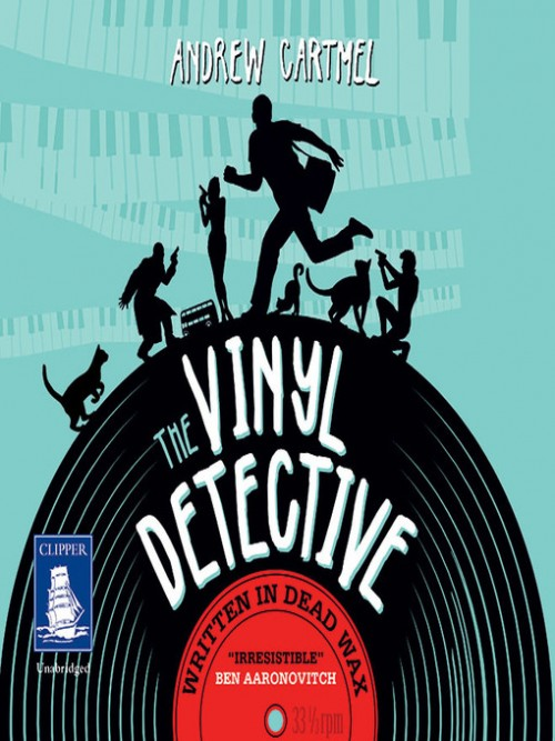 The Vinyl Detective Mysteries Book 1: Written In Dead Wax Cover
