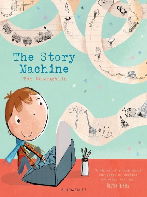The Story Machine Cover