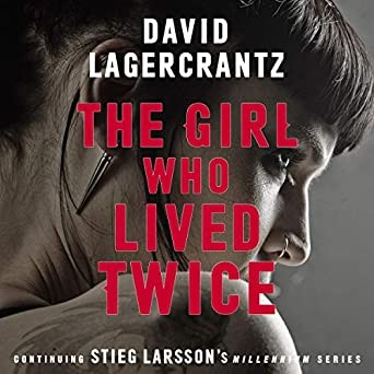 Millennium Series Book 6: The Girl Who Lived Twice Cover