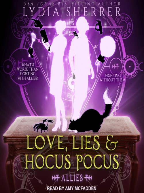 Lily Singer Book 3:  Love, Lies, and Hocus Pocus-Allies Cover
