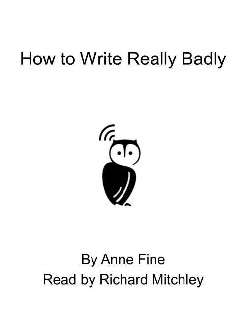 How To Write Really Badly Cover