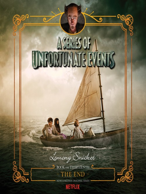 A Series of Unfortunate Events Book 13: The End Cover