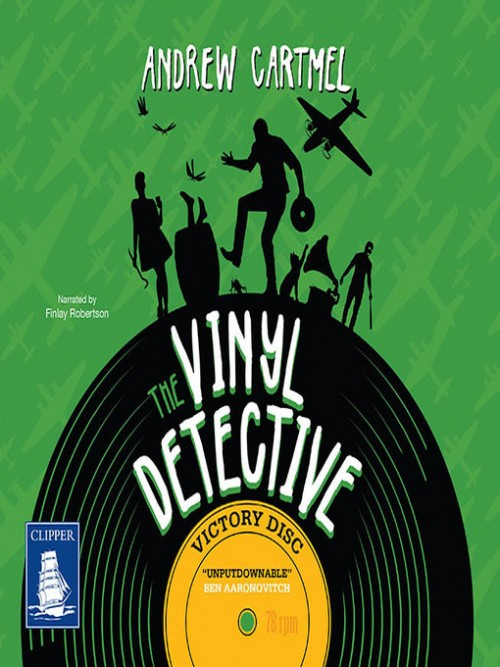 Vinyl Detective Mysteries Book 3: Victory Disc Cover