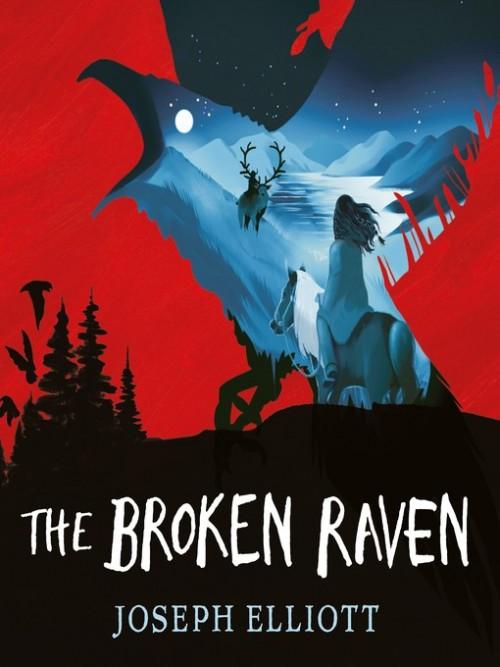 Shadow Sky Book 2: The Broken Raven Cover