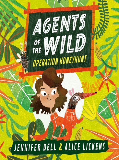 Agents of the Wild Book 1: Operation Honeyhunt Cover