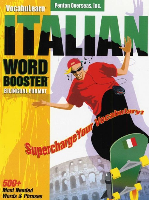 Italian Word Booster Cover