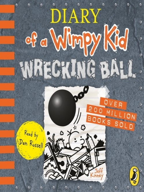 Diary of A Wimpy Kid Book 14: Wrecking Ball Cover