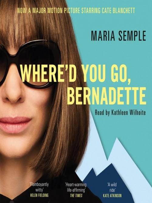 Where'd You Go, Bernadette? Cover