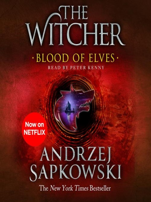 The Witcher Book 1: Blood of Elves Cover