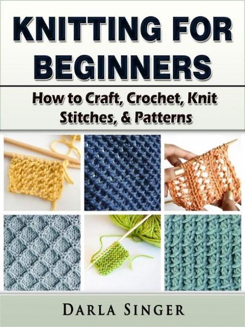 Knitting For Beginners Cover
