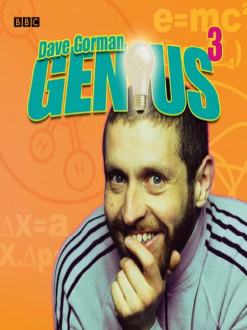 Dave Gorman: Genius, Series 3 Cover