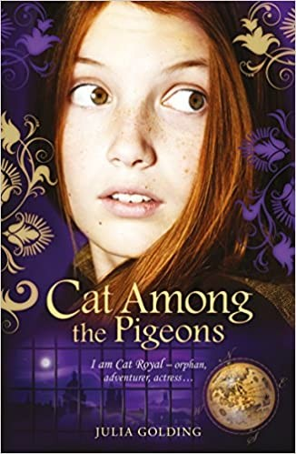 Cat Royal Series Book 2: Cat Among the Pigeons Cover