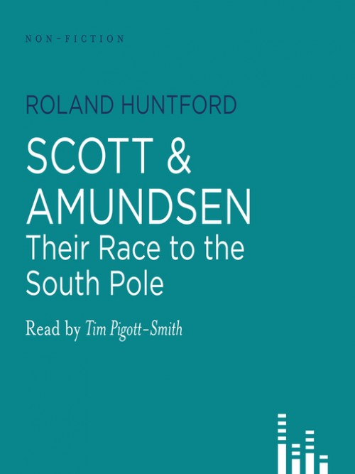 Scott and Amundsen: Their Race To the South Pole Cover