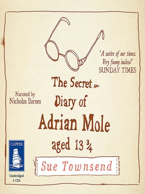 The Secret Diary of Adrian Mole Aged 13 and 3/4 Cover