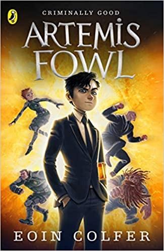 Artemis Fowl Series Book 1: Artemis Fowl Cover
