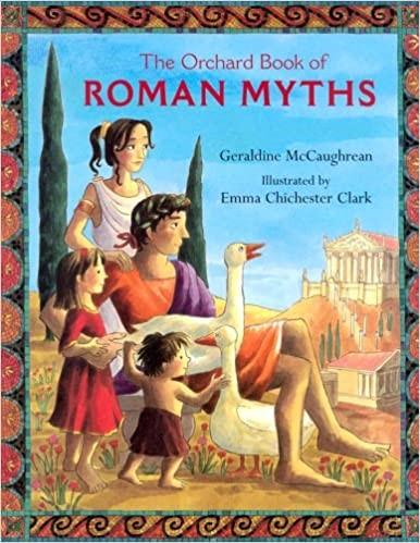 Roman Myths Cover