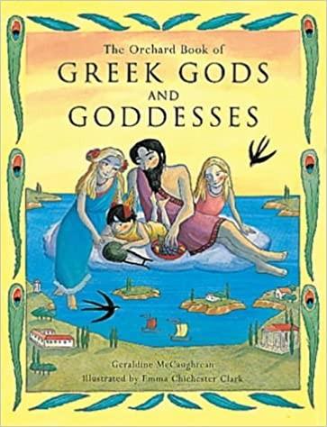 Greek Gods and Goddesses Cover
