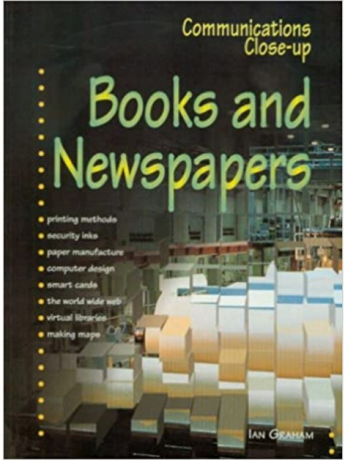 Communications Close-up: Books and Newspapers Cover