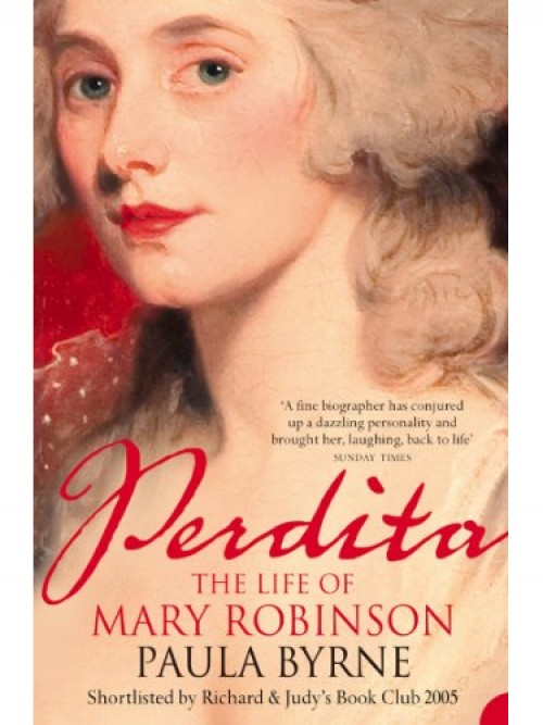 Perdita: The Life of Mary Robinson Cover