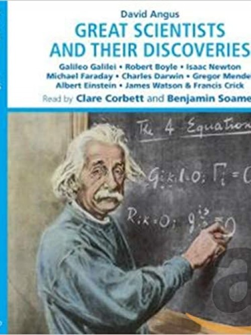 Great Scientists and Their Discoveries Cover