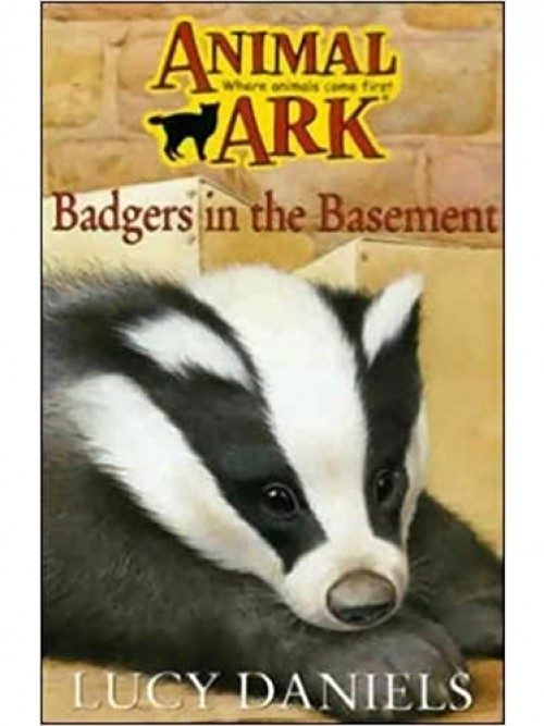Animal Ark: Badger In the Basement Cover