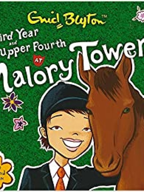 Third Year and Upper Fourth At Malory Towers Cover