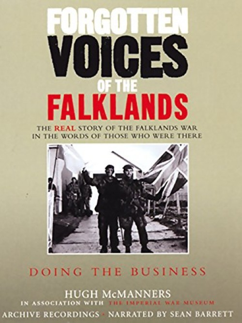 Forgotten Voices of the Falklands Cover