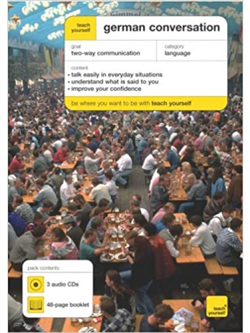 Teach Yourself: German Conversation Cover