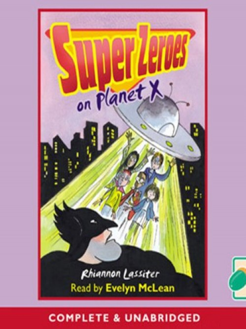 Super Zeroes On Planet X Cover