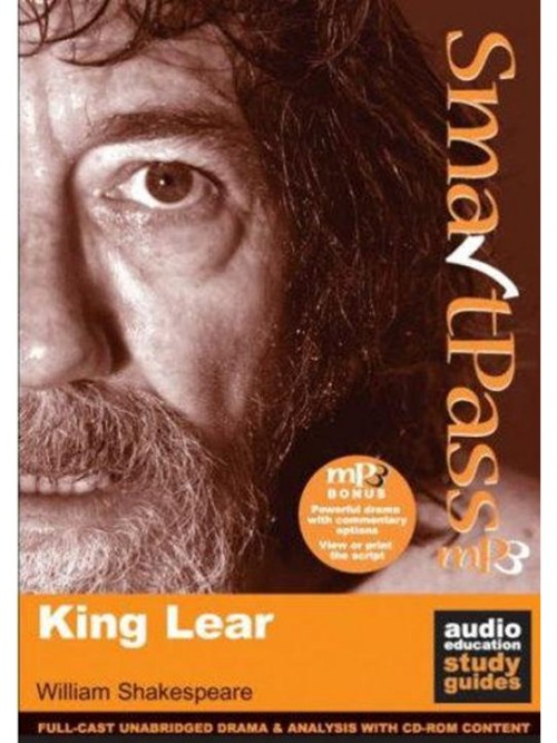 King Lear - Smartpass Study Guide Cover
