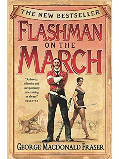 Flashman On the March Cover