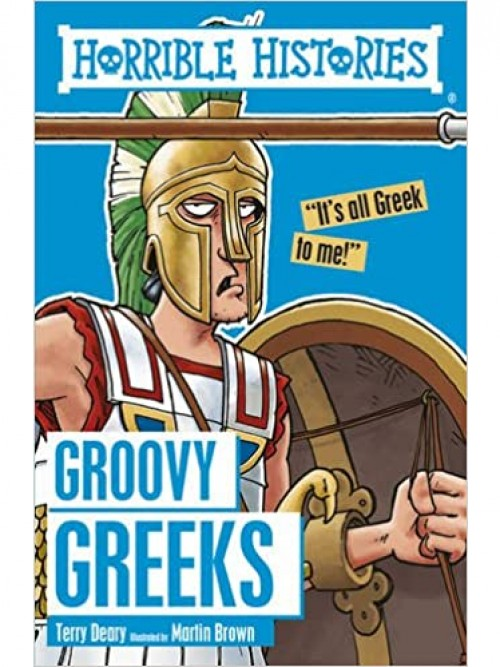 Horrible Histories: The Groovy Greeks & the Stormin' Normans Cover