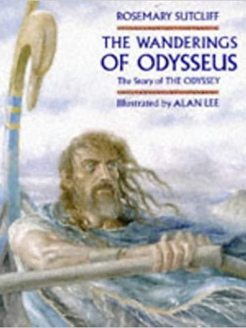 The Wanderings of Odysseus Cover