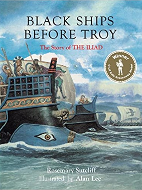 Black Ships Before Troy Cover