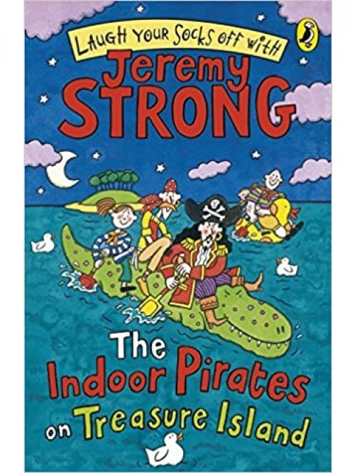 The Indoor Pirates On Treasure Island Cover