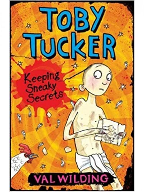 Toby Tucker: Keeping Sneaky Secrets Cover
