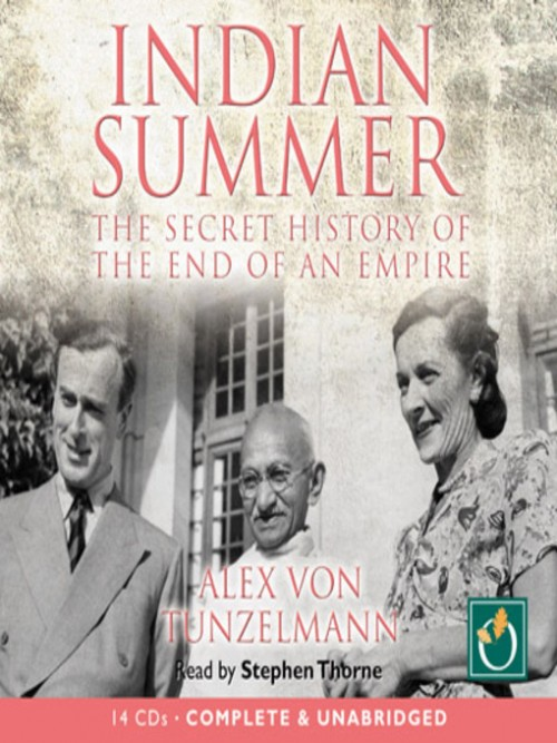 Indian Summer: The Secret History of the End of An Empire Cover