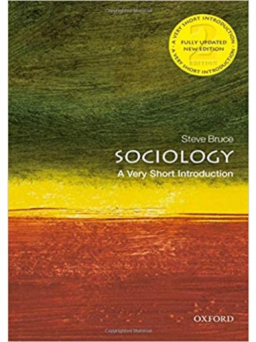 Sociology: A Very Short Introduction Cover