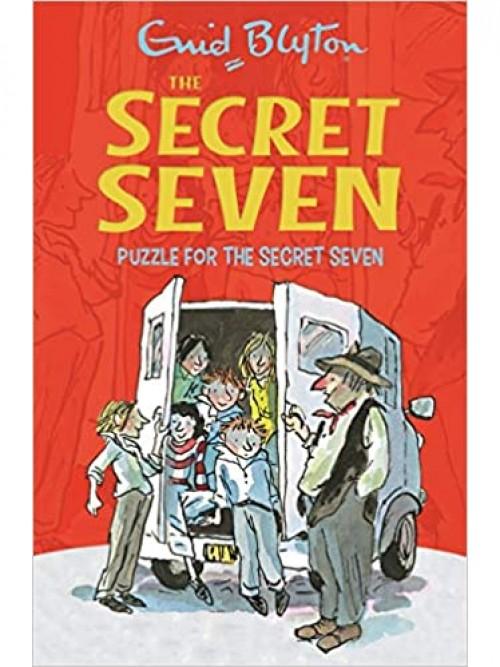 Puzzle For the Secret Seven Cover