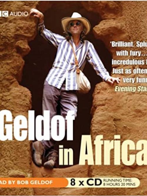 Geldof In Africa Cover