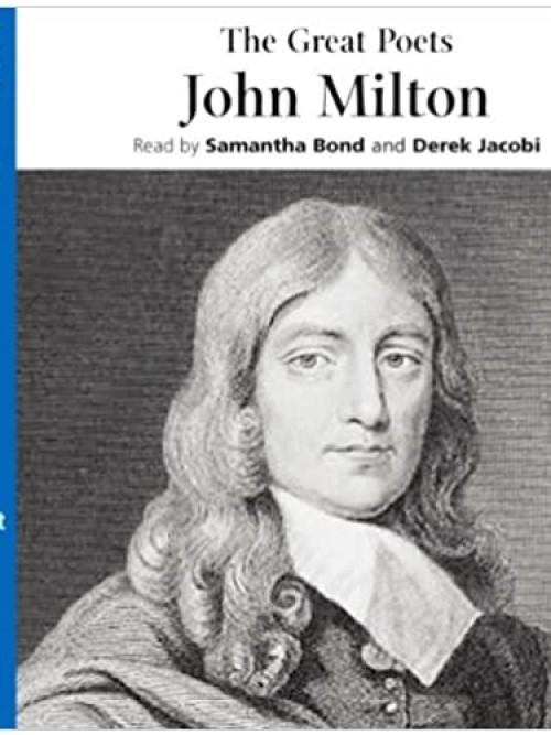 The Great Poets: John Milton Cover