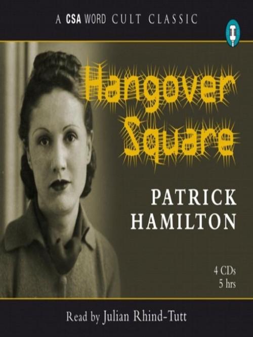 Hangover Square Cover
