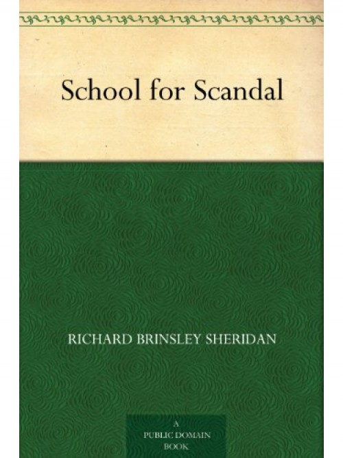 The School For Scandal Cover