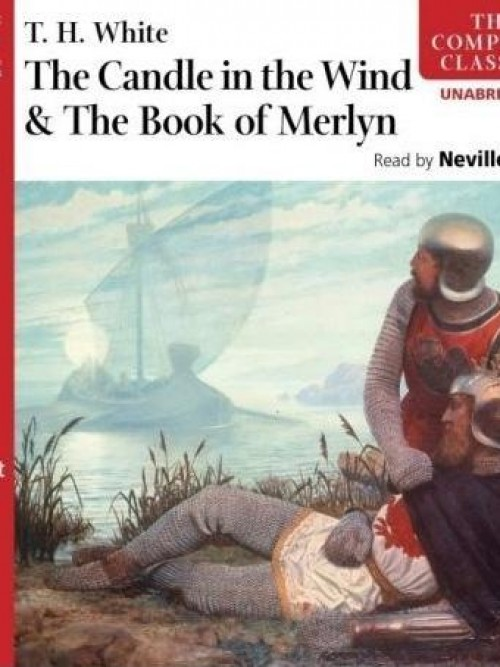 The Candle In the Wind & the Book of Merlyn Cover