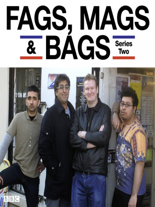 Fags, Mags & Bags, Series 2 Cover