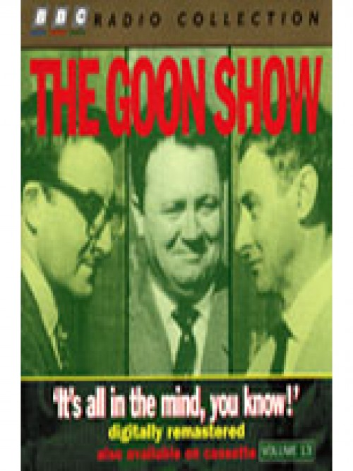 The Goon Show: It's All In the Mind You Know: Cover