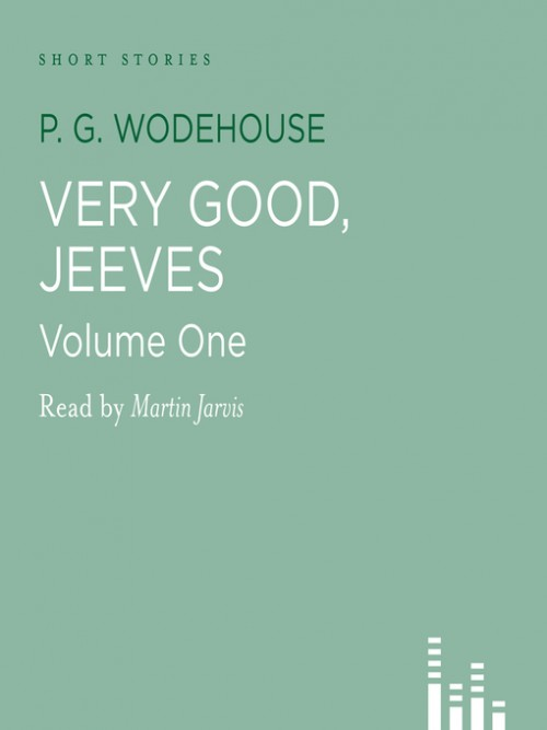 Very Good, Jeeves Cover