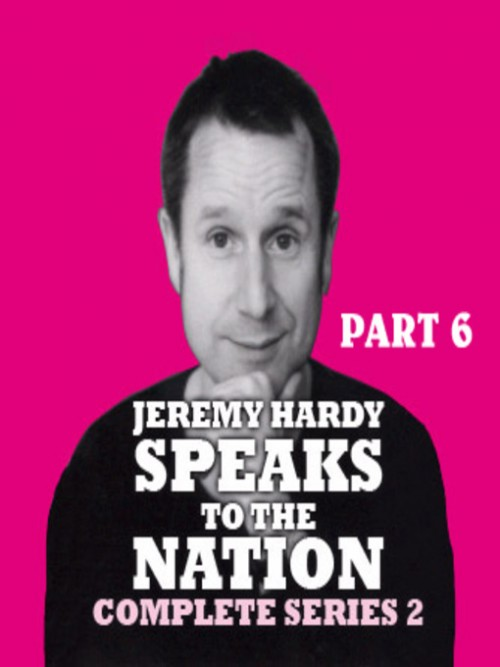 Jeremy Hardy Speaks To the Nation Cover