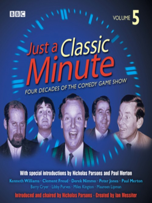Just A Classic Minute  Volume 5 Cover